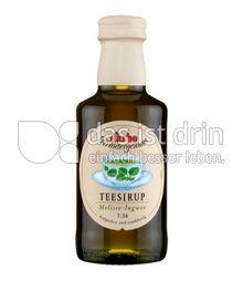 Produktabbildung: Darbo Teesirup Melisse-Ingwer 220 ml