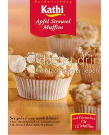 Produktabbildung: Kathi Apfel Streusel Muffins 430 g