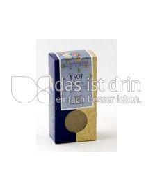 Produktabbildung: Sonnentor Ysop Hildegard 25 g