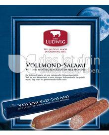 Produktabbildung: Der Ludwig Vollmondsalami 380 g