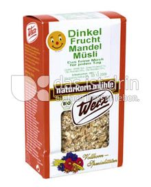 Produktabbildung: Werz Dinkel-Frucht-Mandel-Müsli 400 g