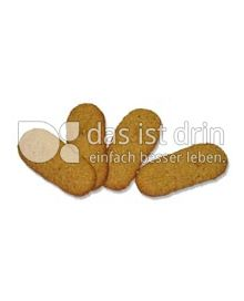 Produktabbildung: Werz Haferkleie-Apfel-Zungen 150 g