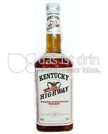 Produktabbildung: Kentucky Highway Whiskey 0,7 l