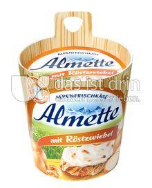 Produktabbildung: Almette Alpenfrischkäse mit Röstzwiebeln 150 g