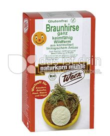 Produktabbildung: Werz Braunhirse ganz keimfähig 500 g