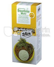 Produktabbildung: Werz Braunhirse gemahlen 1000 g