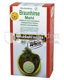 Produktabbildung: naturkorn mühle Werz Braunhirse Mehl 500 g