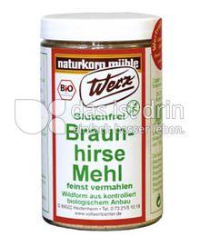 Produktabbildung: Werz Braunhirse Mehl 200 g