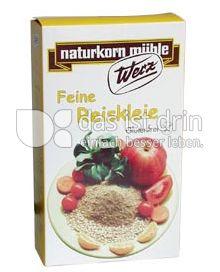 Produktabbildung: Werz Reiskleie fein 1000 g
