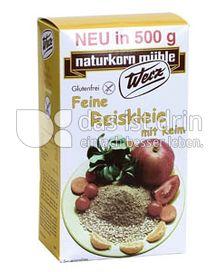 Produktabbildung: Werz Reiskleie fein 500 g