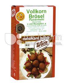 Produktabbildung: Werz Weizen-Vollkornbrösel 250 g