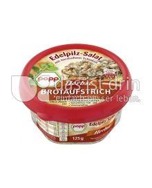 Produktabbildung: Popp Herbst Brotaufstrich Edelpilz-Salat 125 g