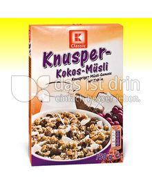 Produktabbildung: K Classic Knusper Kokos-Müsli 750 g