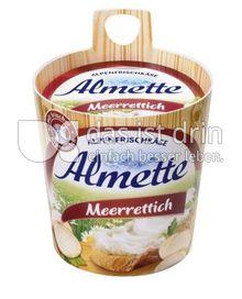 Produktabbildung: Almette Alpenfrischkäse Meerrettich 150 g