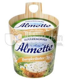 Produktabbildung: Almette Alpenfrischkäse Bergkräuter 16% 150 g