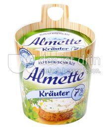 Produktabbildung: Almette Alpenfrischkäse Kräuter 7% 150 g