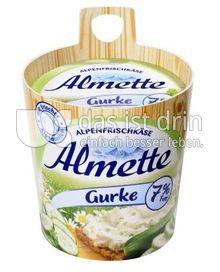 Produktabbildung: Almette Alpenfrischkäse Gurke 7% 150 g