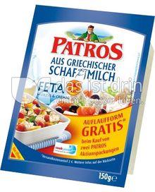 Produktabbildung: Patros Feta aus griechischer Schafmilch 150 g