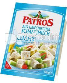 Produktabbildung: Patros Feta aus griechischer Schafmilch Leicht 150 g
