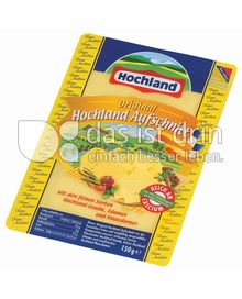 Produktabbildung: Hochland Original Hochland Aufschnitt 150 g