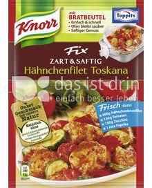 Produktabbildung: Knorr Fix Zart & Saftig Hähnchenfilet Toskana 33 g