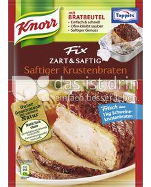 Produktabbildung: Knorr Fix Zart & Saftig Saftiger Krustenbraten 30 g