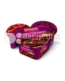Produktabbildung: Ehrmann Grand Dessert nach Herzenslust Schoko Kirsche 150 g