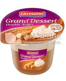 Produktabbildung: Ehrmann Grand Dessert Double Toffee 200 g