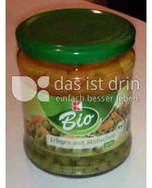 Produktabbildung: K-Bio Erbsen mit Möhrchen 350 g
