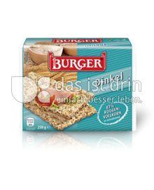 Produktabbildung: Burger Dinkel Knäckebrot 250 g