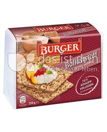 Produktabbildung: Burger Ballaststoff Knäckebrot 250 g