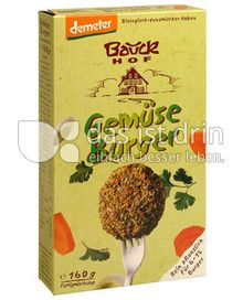 Produktabbildung: Bauck Hof Gemüse Burger 160 g