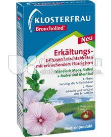 Produktabbildung: Klosterfrau Broncholind Erkältungs-2-Phasen Lutschtabletten 30 St.