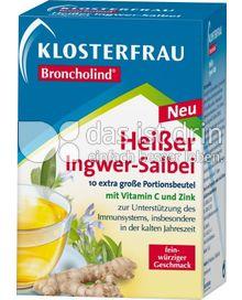 Produktabbildung: Klosterfrau Broncholind Heißer Ingwer-Salbei 10 St.