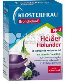 Produktabbildung: Klosterfrau Broncholind Heißer Holunder 10 St.