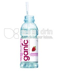 Produktabbildung: ganicwater Strawberry Slim 0,5 l