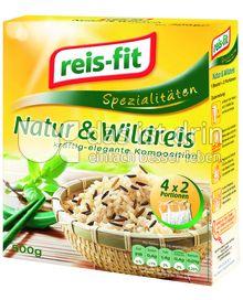Produktabbildung: reis-fit Natur & Wildreis 500 g