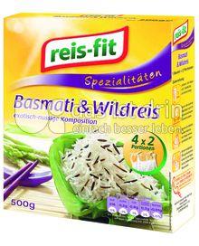 Produktabbildung: reis-fit Basmati & Wildreis 500 g