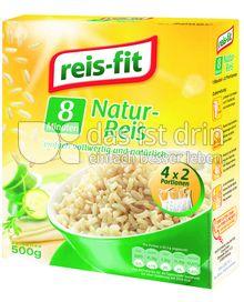 Produktabbildung: reis-fit Natur-Reis 8 Minuten 500 g