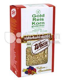 Produktabbildung: Werz Gold-Reis-Korn 500 g