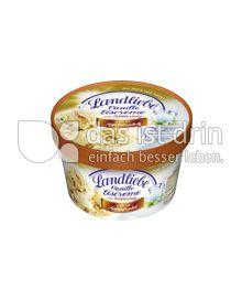 Produktabbildung: Landliebe Vanille Eiscreme mit Blätterteig nach Art Apfelstrudel 750 ml