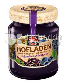 Produktabbildung: Schwartau Hofladen Holunder-Heidelbeere 320 g