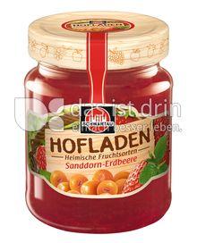 Produktabbildung: Schwartau Hofladen Sanddorn-Erdbeere 320 g