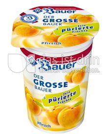 """Produktabbildung: Bauer Der große Bauer """"fein pürierte Früchte"""" Pfirsich 250 g"""