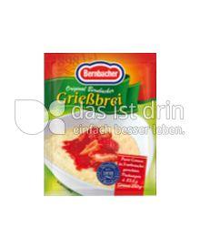 Produktabbildung: Bernbacher Original Bernbacher Grießbrei 83,4 g