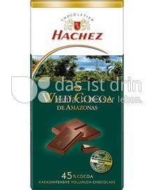 Produktabbildung: Hachez Wild Cocoa de Amazonas Vollmilch 100 g