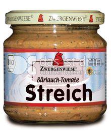 Produktabbildung: Zwergenwiese Bärlauch-Tomate Streich 180 g