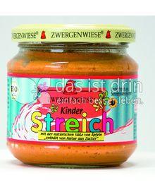 Produktabbildung: Zwergenwiese Kinder Streich mit Apfelsüße 180 g