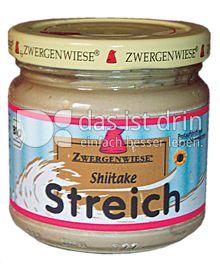 Produktabbildung: Zwergenwiese Shiitake Streich 180 g