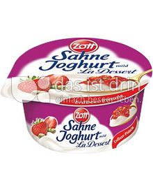 Produktabbildung: Zott Sahne-Joghurt La Dessert Erdbeer-Pistazie 150 g